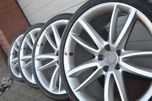 Новые диски с шинами Audi A5