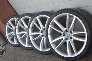 Новые диски с шинами Audi RS5