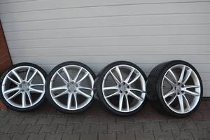 Новые диски с шинами Audi S5
