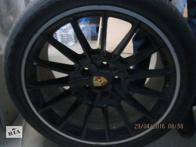 купить бу диск R 21 с шиной для джипа Porsche Cayenne в Киеве