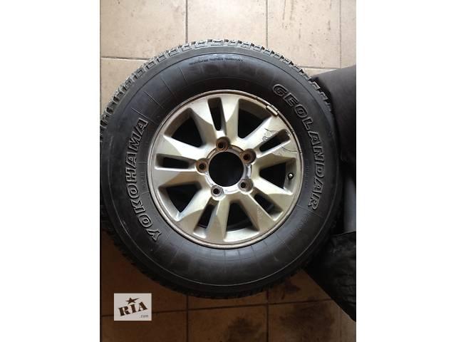 Диск с шиной для кроссовера Toyota Land Cruiser 200- объявление о продаже  в Киеве