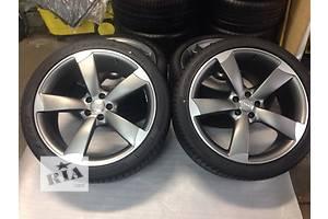 Новые диски с шинами Audi A8