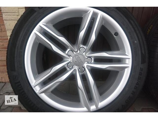 бу  диск с шиной для легкового авто Audi Q7 4m 2015.285/45/20. в Ужгороде