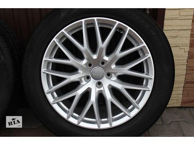 диск с шиной для легкового авто Audi Q7 4M 285/45/20.- объявление о продаже  в Ужгороде