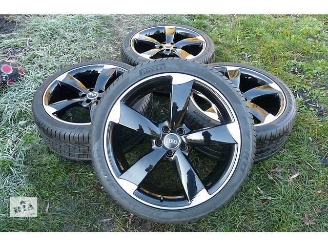продам  диск с шиной для легкового авто Audi S8 ROTOR BLACK 275/35/21. бу в Ужгороде