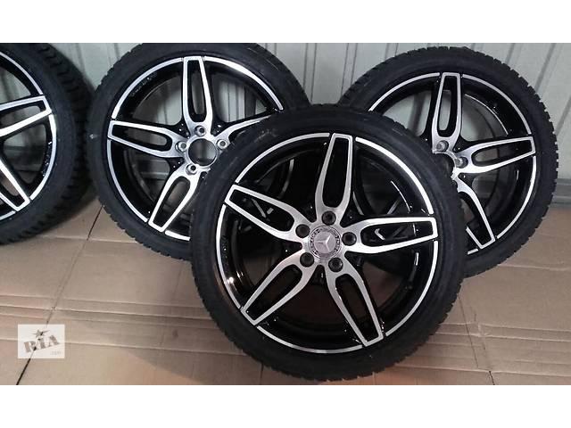 бу  диск с шиной для легкового авто Mercedes CLA 45 AMG R18 в Ужгороде