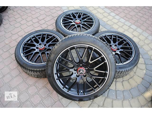 продам  диск с шиной для легкового авто Mercedes CLA 45 AMG бу в Ужгороде
