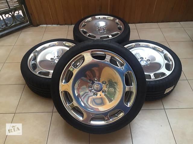 продам  диск с шиной для легкового авто Mercedes S 63 AMG Maybach Exclusive бу в Ужгороде