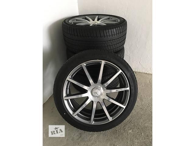 продам  диск с шиной для легкового авто Mercedes S 63 AMG W222 бу в Ужгороде