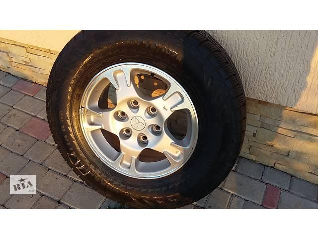 диск с шиной для легкового авто Mitsubishi Pajero  wagon- объявление о продаже  в Хмельницком