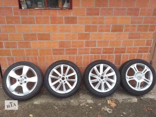 продам Диск с шиной для легкового авто Skoda бу в Ровно