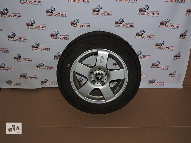 купить бу Диск с шиной для легкового авто Volkswagen Caddy в Костополе