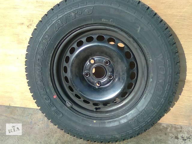 бу  диск с шиной для легкового авто Volkswagen, Skoda Yeti в Мариуполе (Донецкой обл.)