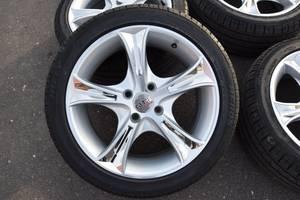 Новые диски с шинами Daewoo Lanos