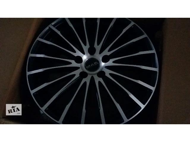 бу Диск для легкового авто Audi MAK Fatale Ice Black в Львове