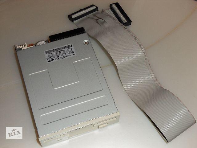 бу Дисковод 3.5'' Floppy FDD Samsung SFD-321B + шлейф в Запорожье