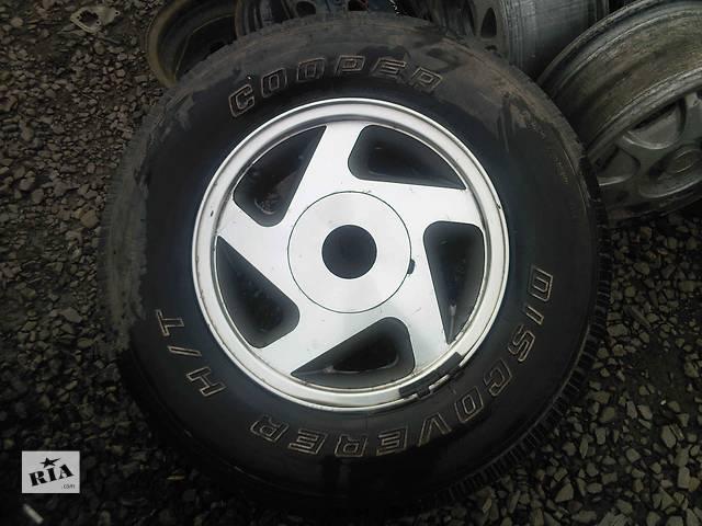Диски 15 с шиной для легкового авто Ford Explorer- объявление о продаже  в Ужгороде