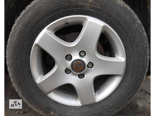 купить бу Диски Диск Титаны Титани R17 Volkswagen Touareg Туарег 2.5 2002 - 2009 в Ровно