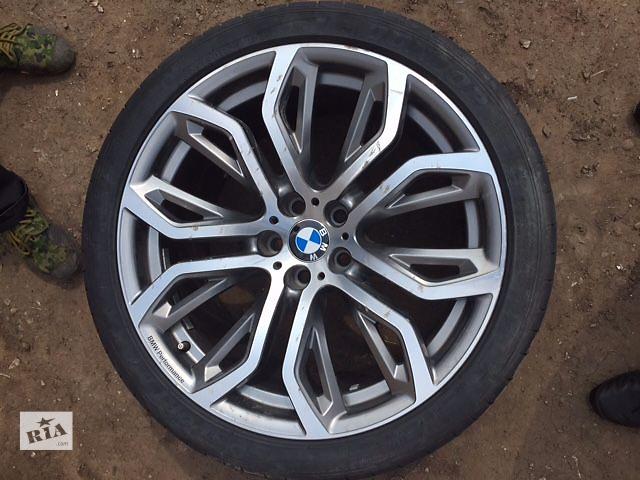 купить бу Диски колеса 21 R21 BMW X5, X6 E70 E71 F15 F16 styling стиль 375 285/35/21 325/30/21. 6796149, 6796151 в Луцке