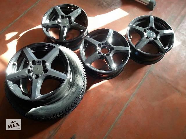 купить бу Диски литые 5х112 R15 ET44 6J Оригинал Germany Mercedes,Audi,VW,Skoda,Seat в Запорожье