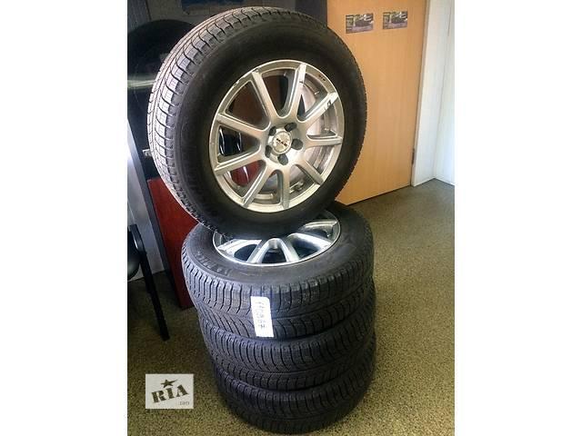 продам Диски MAC 5X100 с новой зимней резиной Michelin X-ICE 215/60 R16 бу в Киеве