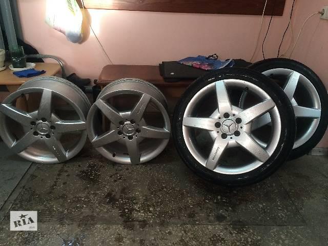 продам Диски Mercedes AMG R18+резина бу в Донецке