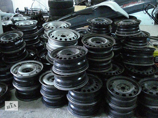 бу Диски металічні з Німеччини на Фиат Скудо Fiat Scudo стальні Expert стальные Jumpy 5х98 R15 Б/у диск в Бориславе