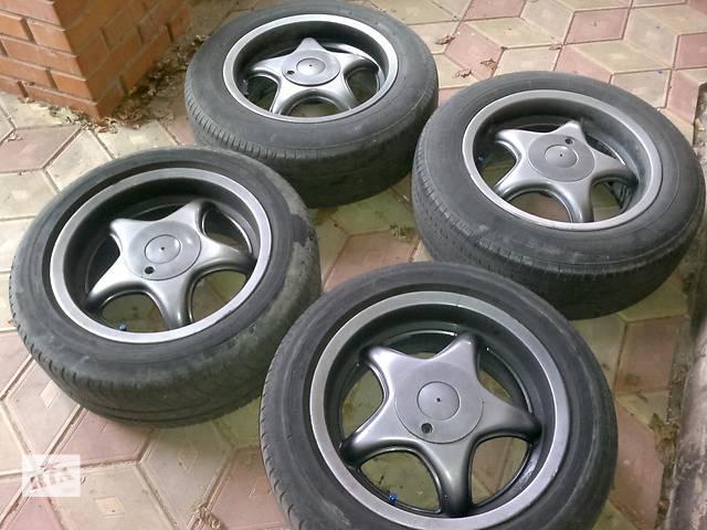 продам Диски R 16 c летней резиной Michelin Energy 205/ 55 и Yokohama Aspec 215/60 , 100 на 4  бу в Киеве