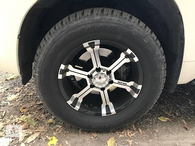 купить бу диски с резиной в идеале на Toyota Prado 120-150 в Харькове