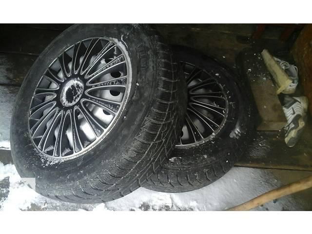 бу  Диски с шинами 215/65 R16 4шт. в Верховине