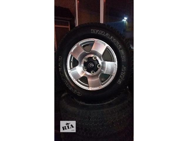 бу Б/у диск с шиной для легкового авто Toyota Land Cruiser (все) в Киеве