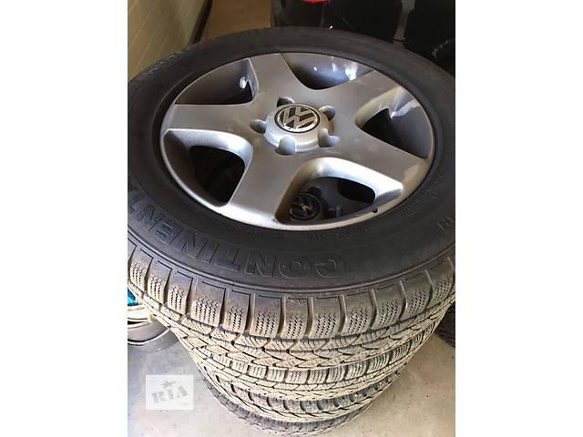 продам Диски с зимней резиной  для  Volkswagen Touareg бу в Ровно