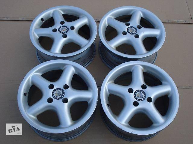 купить бу Диски титаны Ford Escord, Mondeo, Focus, Fiesta Титанові диски на Ford титани литые титаны Mondeo Escord 4х108 R15 в Бориславе