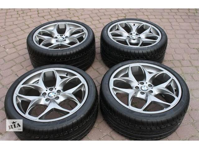 продам Диски колеса 21 R21 BMW X5, X6 E70 E71 F15 F16 styling стиль 215, 6772252, 6772253, резина Dunlop Maxxx Sport 285/35/21 бу в Луцке