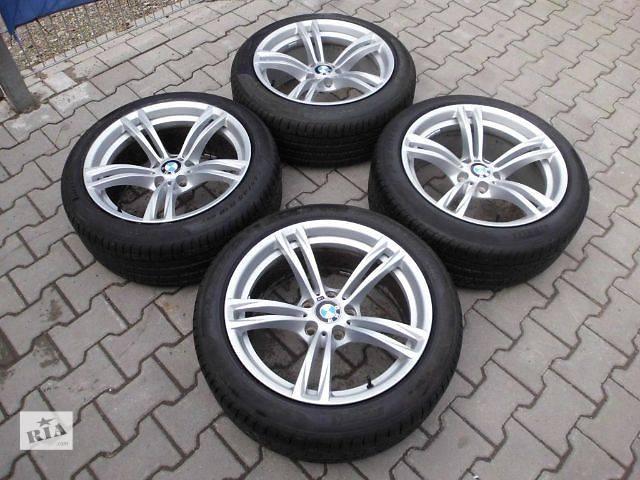 купить бу Диски новые оригинал BMW 5 7 f10 f11 f12 f07 f01 R19 M M-power 408 стиль styling 9j в Луцке