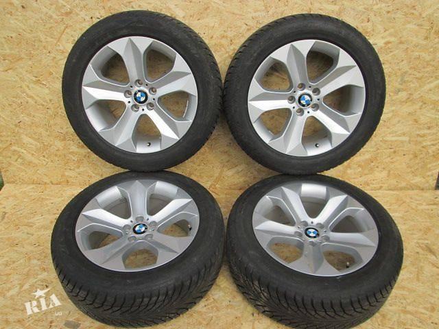 купить бу Диски колеса BMW X5 X6 E70 E71 F15 F16 19 R19 9j styling 232 стиль с резиной лето или зима 255/50/19 в Луцке