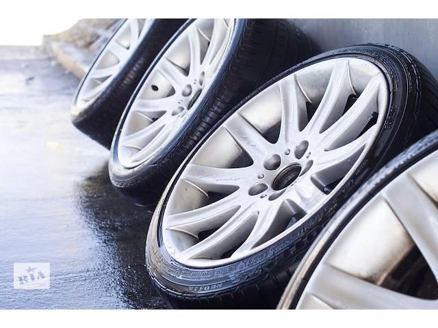 купить бу Диски колеса разноширокие 19 R19 BMW 5, 7 E39 E60 E38 E65 9j 10 j styling стиль 95  резина 245/45 275/40 r19 в Луцке