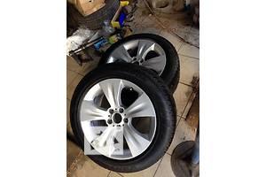 Диски и шины, разно широкие, комплект. Колеса R19 BMW X5 E70. Стиль 213.