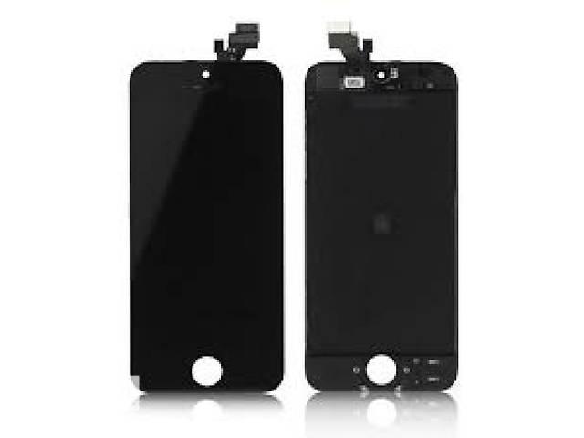 купить бу Дисплей (модуль) Ipod 5G чёрный оригинал в Киеве