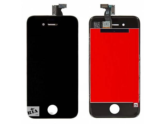 купить бу Дисплей для iPhone 4S Black + touchscreen ORIGINAL Без битых Пикселей в Виннице
