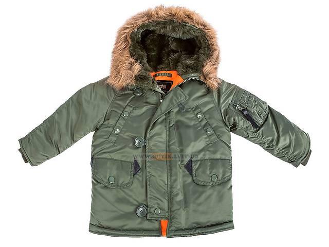 продам Детская куртка аляска Youth N-3B Parka Alpha Industries бу в Львове