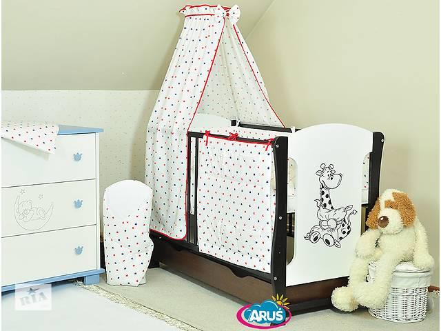бу Детская кроватка + матрас (гречка и пена) + набор постельного белья в Ровно
