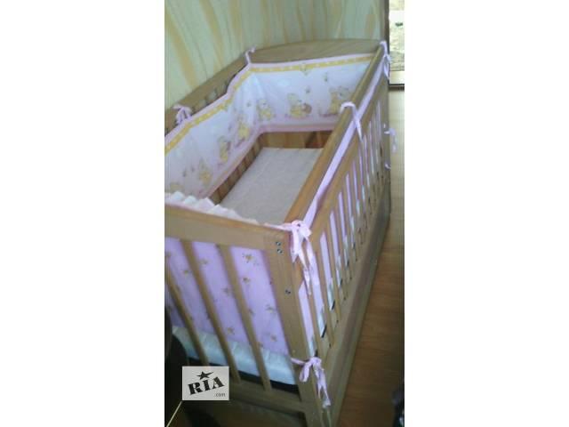 Детская кроватка- объявление о продаже  в Дубно