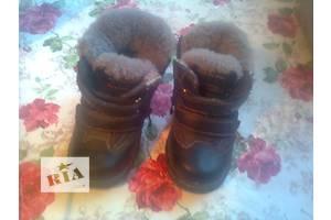б/у Дитячі зимові чобітки