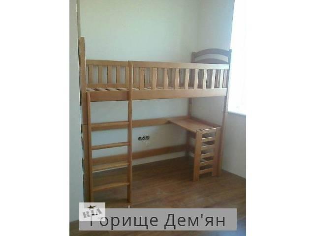 бу Кровать чердак Демян -10% СКИДКА на матрас в Львове