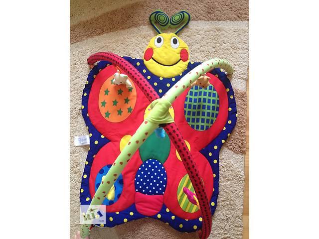продам Детский развивающий коврик Бабочка бу в Тернополе