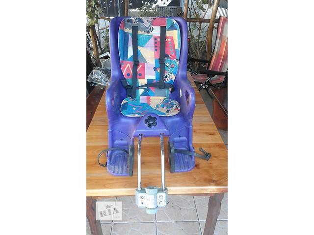 бу Детский стульчик для велосипеда в Мукачево