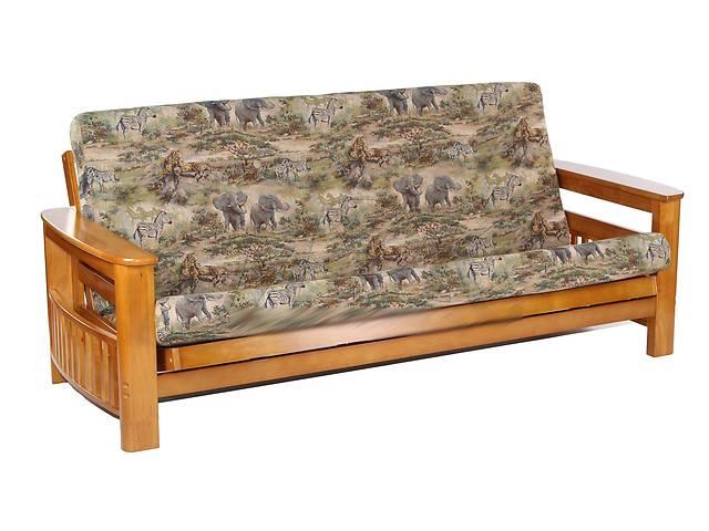 продам Диван кровать футон дерево, массив гевеи, цвет медовый дуб (Малайзия) бу в Киеве