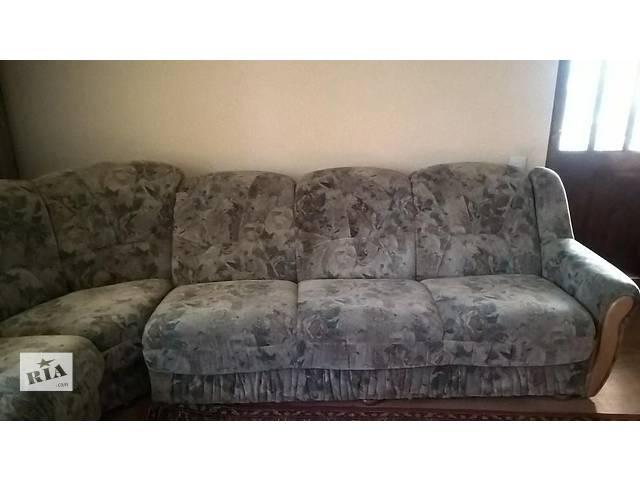 купить бу диван-уголок раскладной (книжка) в Львове