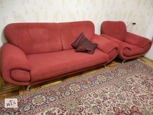 купить бу Диван и кресло для гостиной в Запорожье